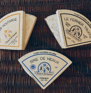 Fromages Fermiers Ferme 30 Arpents Brie de meaux - Fermier Truffé